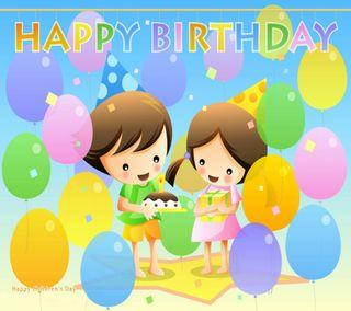 Обои на телефон счастливые, день рождения, happym