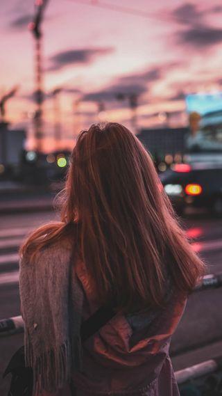 Обои на телефон love, любовь, девушки, город, одиночество, люди, улица, модели, настроение