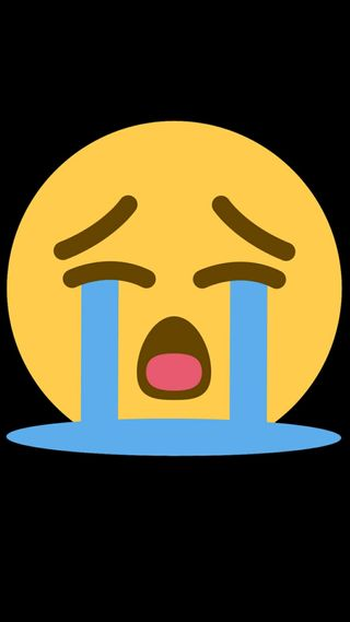 Обои на телефон эмоджи, crying