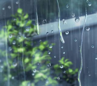 Обои на телефон настроение, симпатичные, дождь, аниме, rainy mood
