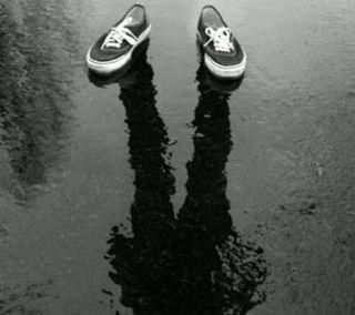 Обои на телефон тень, стиль, обувь, крутые, дизайн, the shadow, the man, 2013