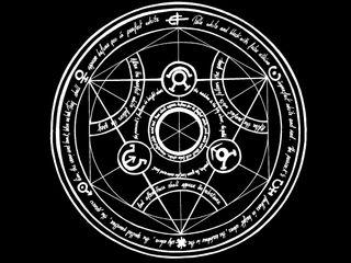Обои на телефон металл, круги, алхимик, transmutation circle, full
