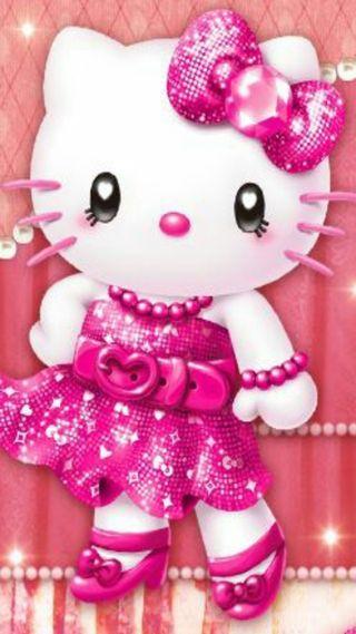 Обои на телефон привет, розовые, котята