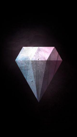 Обои на телефон шик, черные, сверкающие, простые, иллюстрации, дорогие, дизайн, бриллиант, богатые, huge diamond, hd