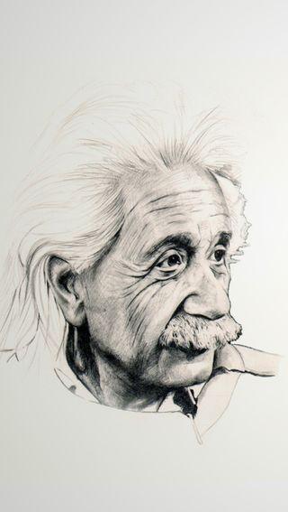 Обои на телефон эйнштейн, наука, черные, белые, scientist, physics, albert einstein