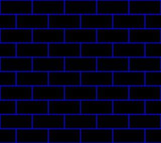 Обои на телефон blueblack bricks, абстрактные, черные, синие, кирпичи