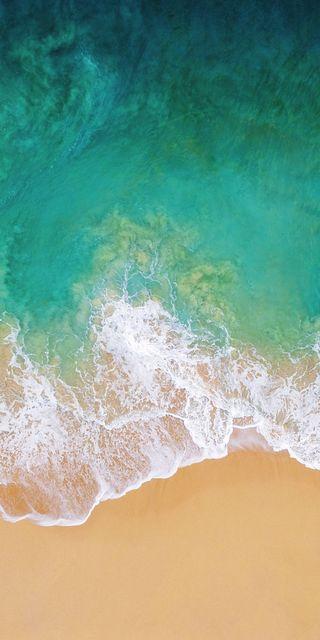 Обои на телефон айфон 6, эпл, река, пляж, песок, морской берег, зеленые, айфон, s6, iphone, ios, apple