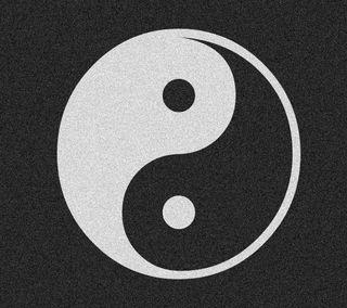 Обои на телефон янь, чистые, черные, темные, инь, знаки, дух, белые, yin yang sign 1