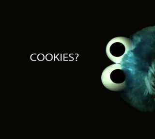 Обои на телефон улица, печенье, sesame, monster