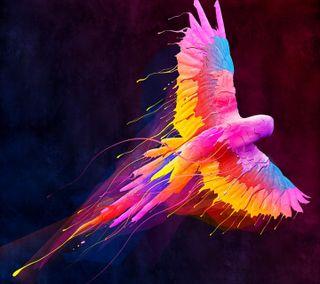 Обои на телефон попугай, рисунки, rfharh, paint parrot, hethaetj