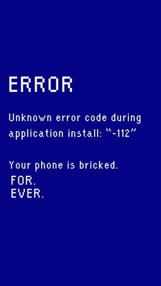 Обои на телефон сообщение, юмор, пранк, ошибка, лол, забавные, lol, aprilfools