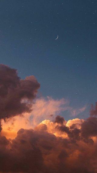 Обои на телефон небеса, дьявол, облака, милые, закат, бог, ангелы