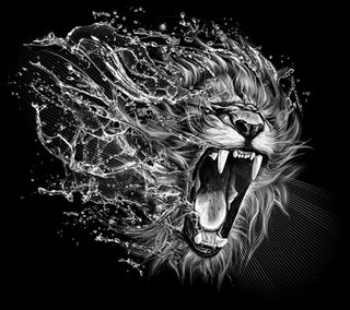 Обои на телефон леон, лев, крутые, furioso