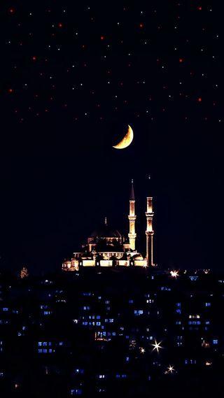 Обои на телефон стамбул, новый, ислам, ramazan