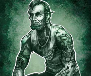 Обои на телефон татуировки, тату, зеленые