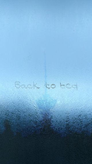Обои на телефон темные, синие, кровать, капли, дождь, город, горизонт, башня, skyline, monday, back to bed