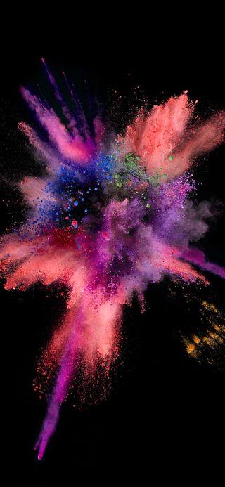 Обои на телефон взрыв, эпл, цветные, телефон, золотые, грани, галактика, брызги, plus, note, ios, galaxy, apple