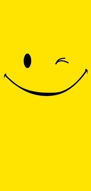 Обои на телефон желтые, черные, счастливые, смайлики, happy