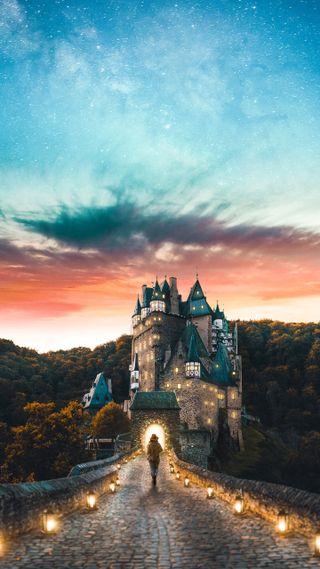 Обои на телефон шотландия, архитектура, замок, medieval, castles