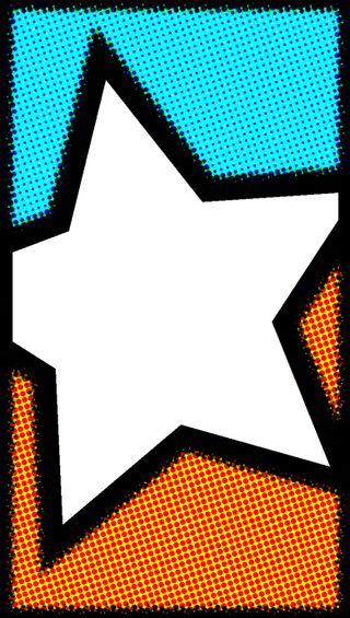 Обои на телефон точки, современные, синие, оранжевые, крутые, звездное, звезда, абстрактные, star blue and orange