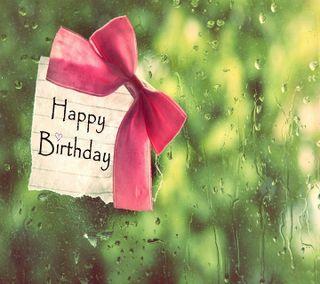 Обои на телефон день рождения, ты, счастливые, приветствия, подарок, капли, дождь, 3д, 3d happy birthday