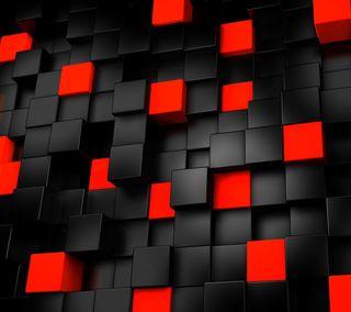 Обои на телефон куб, коробка, квадратные, абстрактные, 3д, 3d