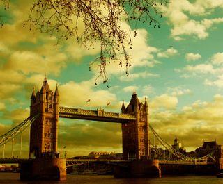 Обои на телефон лондон, мост