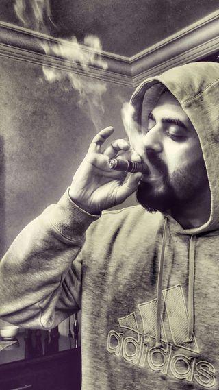 Обои на телефон элегантные, стиль, наслаждаться, дым, любовь, логотипы, адидас, love, cigars, adidas