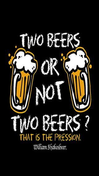 Обои на телефон шутка, пчела, beers, 2 beers or not 2 bee