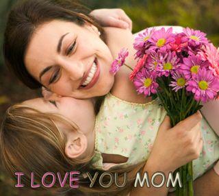 Обои на телефон обнимать, чувства, ты, поцелуй, милые, мама, любовь, девушки, love you mom, love