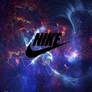 Обои на телефон galaxy, nike, логотипы, галактика, найк, эпичные