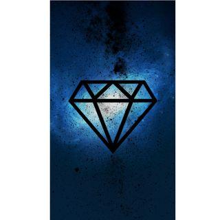 Обои на телефон бриллиант, galaxi, diamante