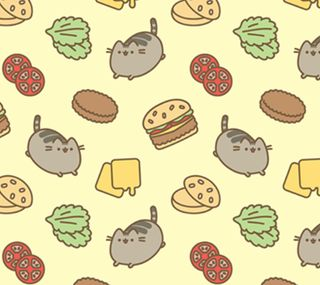 Обои на телефон мяу, каваи, кошки, meowburger, burger