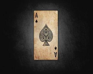 Обои на телефон карты, туз, игра, ace of spades
