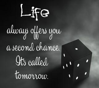 Обои на телефон шанс, плохой, завтра, жизнь, высказывания, times, life coin, good, bad
