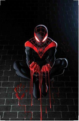 Обои на телефон кровь, человек паук, паук, марвел, spider blood, marvel