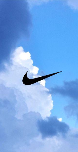 Обои на телефон спортивные, облака, найк, мотивация, бег, nike, air