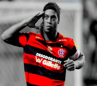 Обои на телефон бразилия, черные, красые, sv1991, ronaldinho, footballer