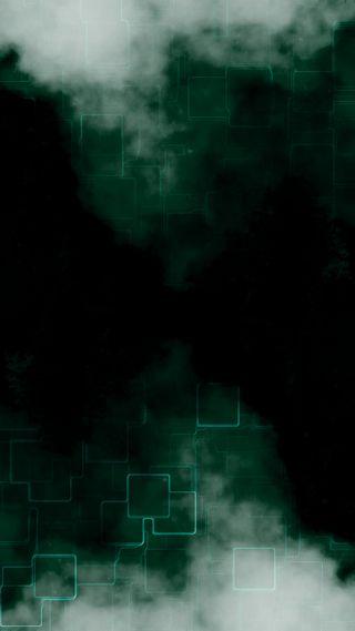 Обои на телефон no smoke no fire, абстрактные, черные, темные, дизайн, зеленые, огонь, дым, технологии, квадраты