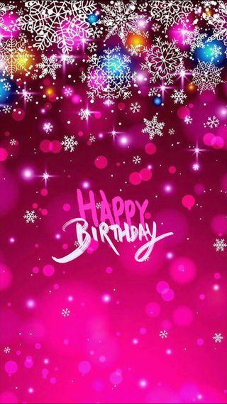 Обои на телефон пожелание, счастливые, снежинки, снег, розовые, рождество, исус, день рождения, блестящие, hd, happy birthday jesus