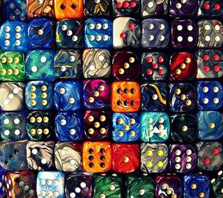 Обои на телефон куб, квадратные, шаблон, игральные кости