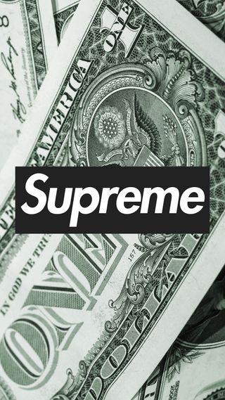 Обои на телефон деньги, сша, доллары, бренды, usa, supreme, ricegum, 100 dollars, 1 dollar