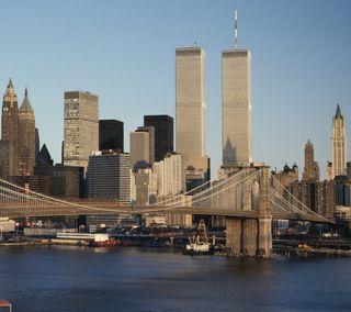 Обои на телефон нью йорк, новый, небоскребы, город, башня, башни, wtc, twin towers, 9/11