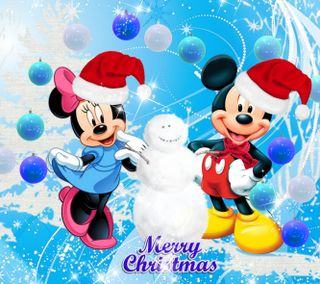 Обои на телефон счастливое, снеговик, рождество, микки, маус, дисней, 2160x1920px, disney