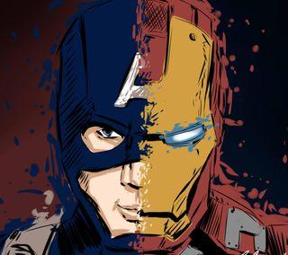 Обои на телефон супергерои, рисунки, мультфильмы, марвел, комиксы, голливуд, война, marvel, dc