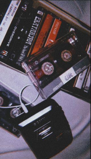 Обои на телефон cassette tape, mixtape, walkman, walkman cassette, эстетические, винтаж, фан, старые, ретро, 80е