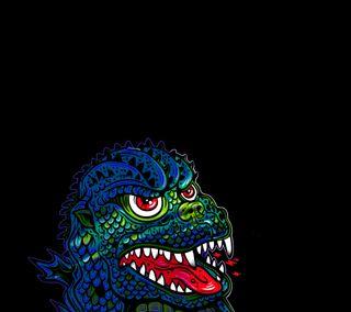 Обои на телефон ящерица, странные, крутые, иллюстрации, арт, pixel, lurking lizard, lacko, art, 8бит