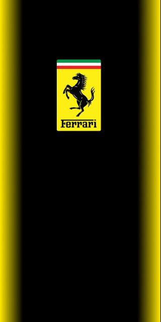 Обои на телефон домашний экран, феррари, неоновые, желтые, ferrari yellow neon