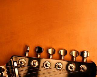 Обои на телефон голова, гитара, strings, guitar head
