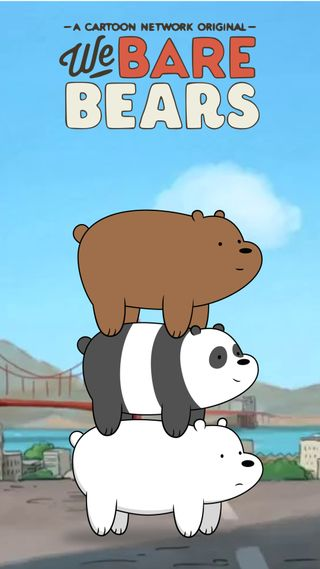 Обои на телефон сеть, мы, медведи, мультфильмы, милые, we bare bearstack, bearstack
